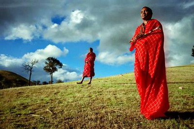 Обычаи народа Масаи (400x266, 51Kb)