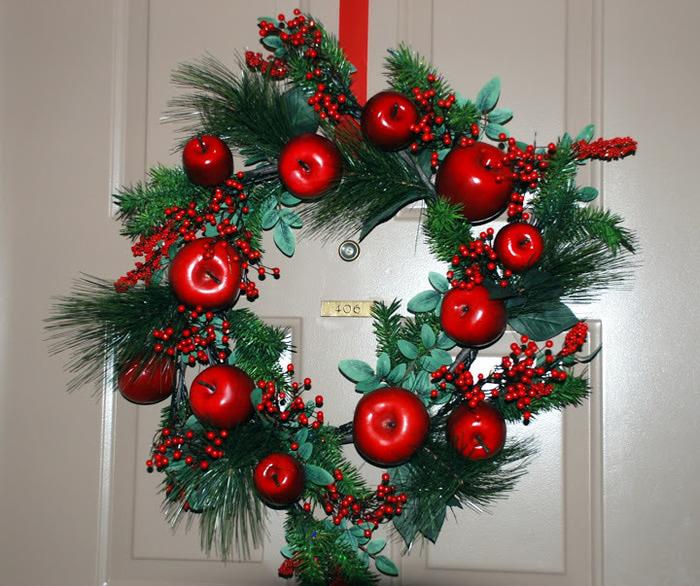 Рождественский венок 57479