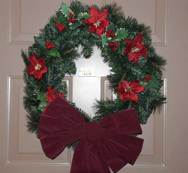 Рождественский венок 11379