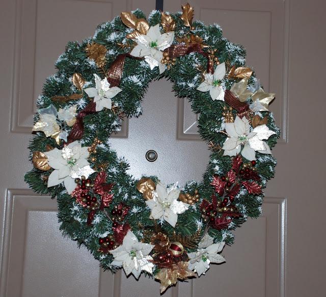Рождественский венок 20135