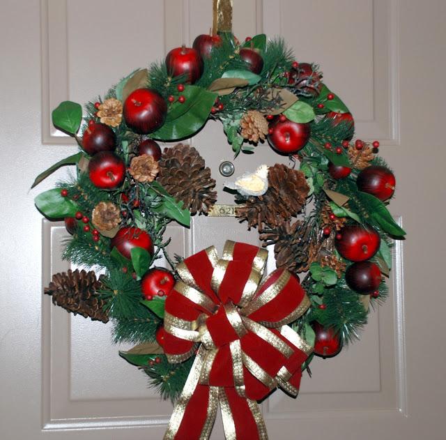 Рождественский венок 12626