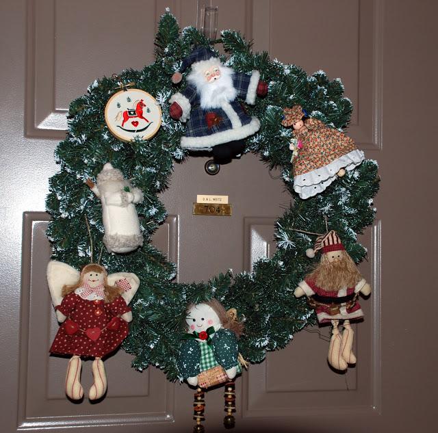Рождественский венок 81243