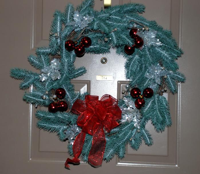 Рождественский венок 85882