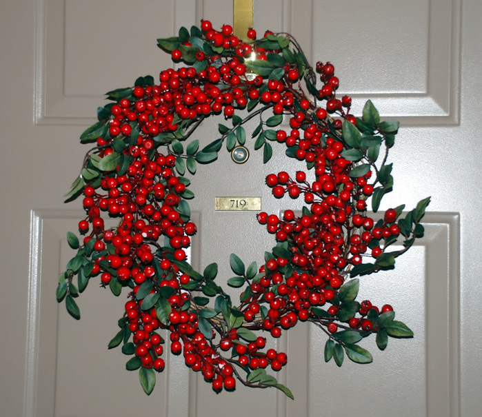 Рождественский венок 75011