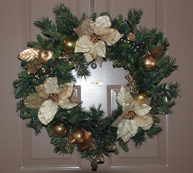 Рождественский венок 77494