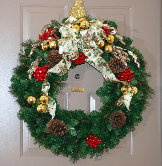 Рождественский венок 83478