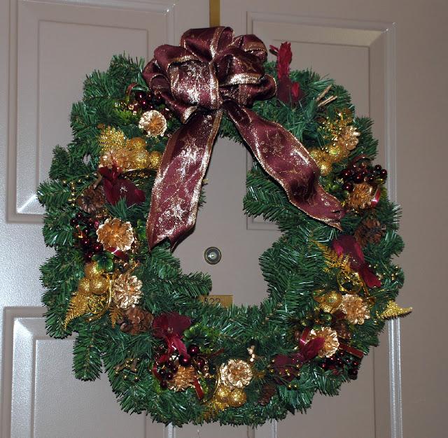 Рождественский венок 42667