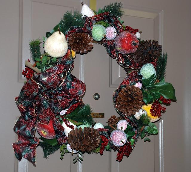 Рождественский венок 70552