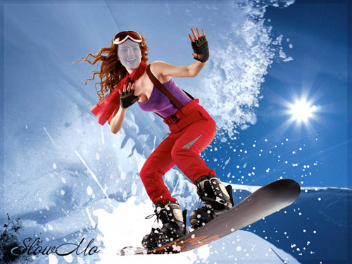 Женский шаблон для фотошопа - Девушка на сноуборде/1356436596_Cover500_girl_on_snowboard (500x375, 93Kb)