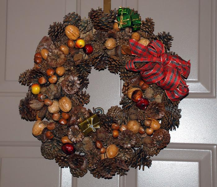 Рождественский венок 59465