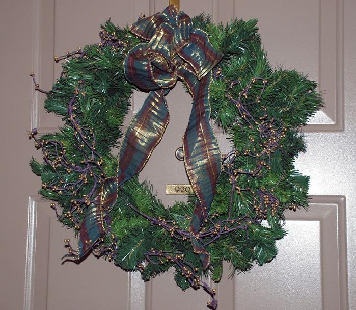 Рождественский венок 13817