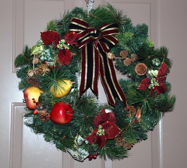 Рождественский венок 63407