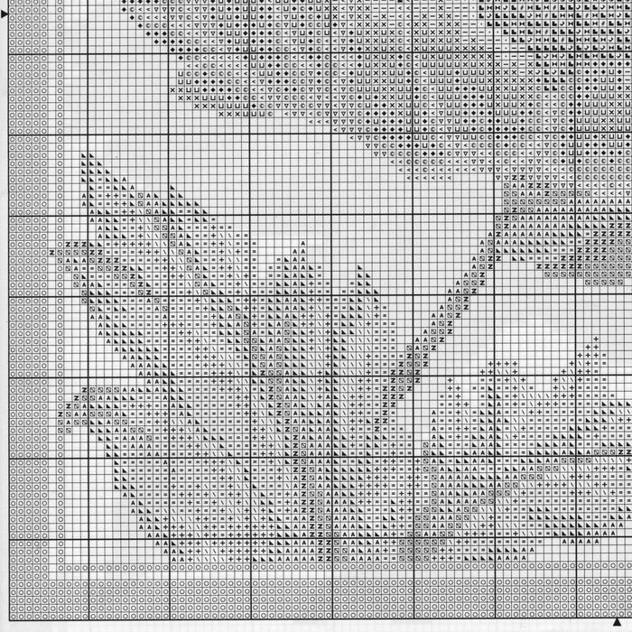 Часть 13 - МАК.Схема вышивки