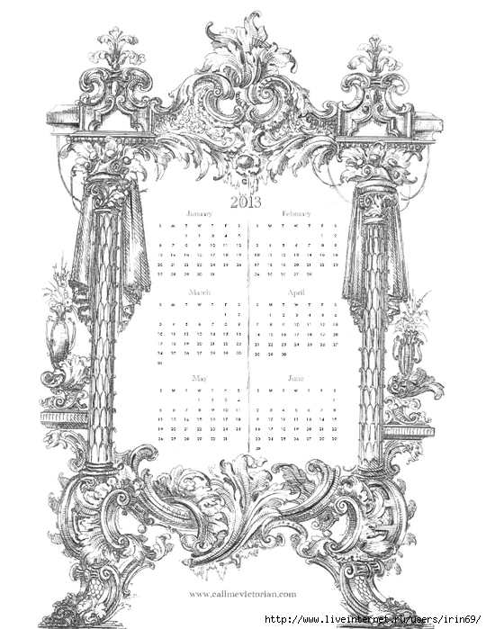 french-ornate-calendar-january-june (540x700, 256Kb)