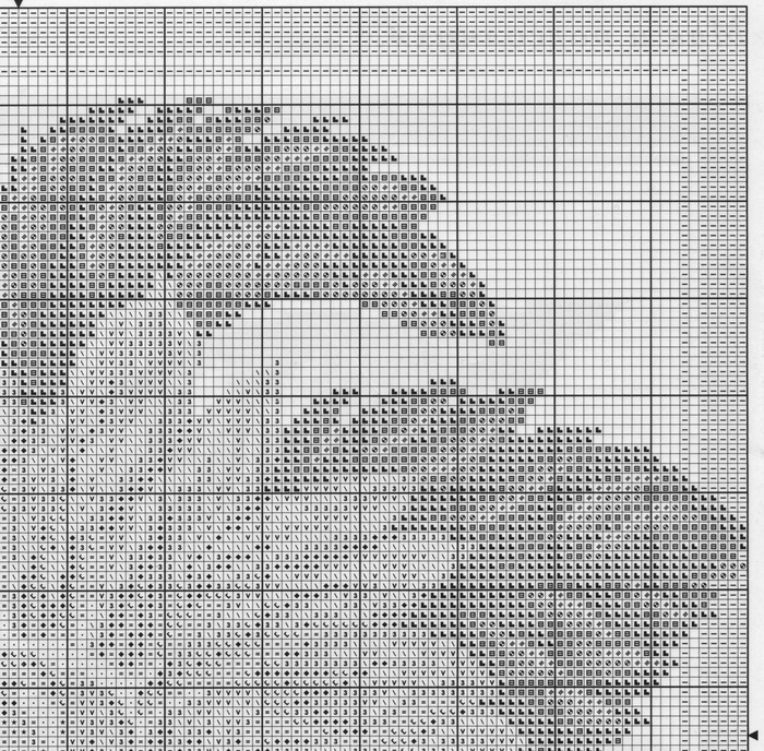 Схема крестом