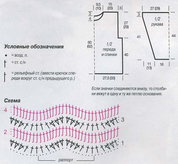 Схема свитер для йорка