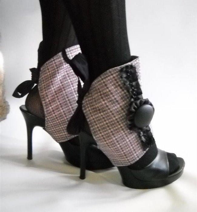 Декорирование обувь своими руками