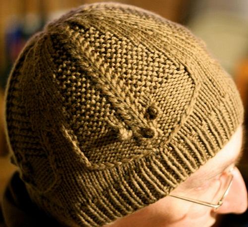 """针织:汉娜的""""三叶虫""""帽子 - maomao - 我随心动"""