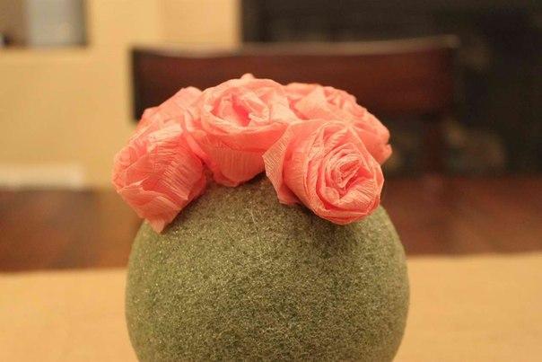 Розы шары своими руками