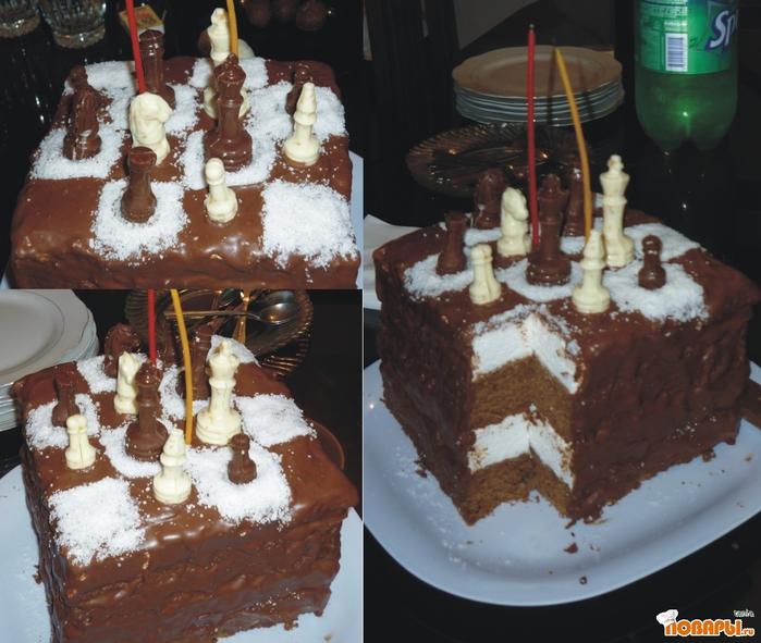 Шахматный торт  YouTube