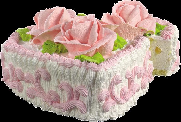 Прозрачные картинки торт