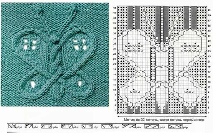 вязание спицами узоры (700x436, 117Kb)