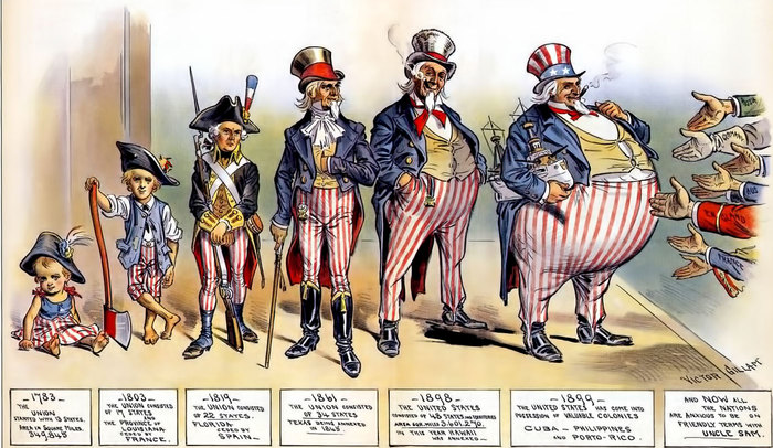 analyze the extent to which the spanish american war was a turning point in american foreign policy The spanish-american war: the leap into overseas empire by expanding the horizons of us foreign policy in the that splendid little war was a turning point.