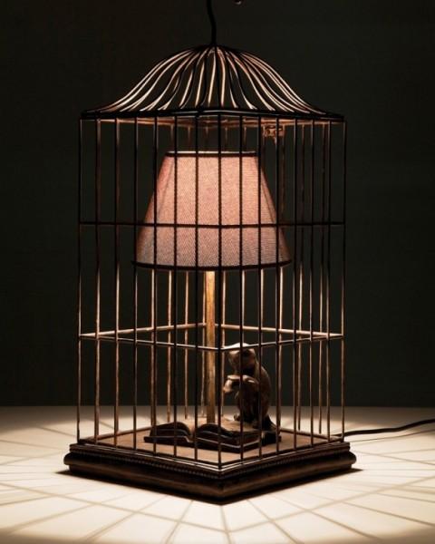 кот в клетке лампа креативный дизайн 2 (480x600, 58Kb)