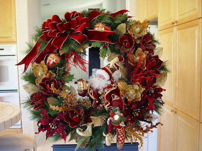 Рождественский венок 85281
