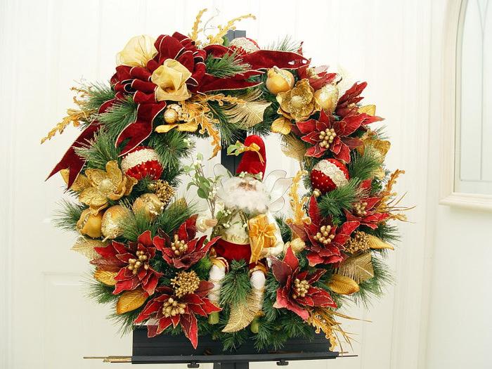Рождественский венок 94396