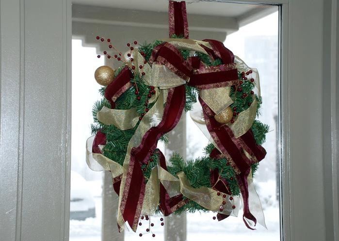 Рождественский венок 65347