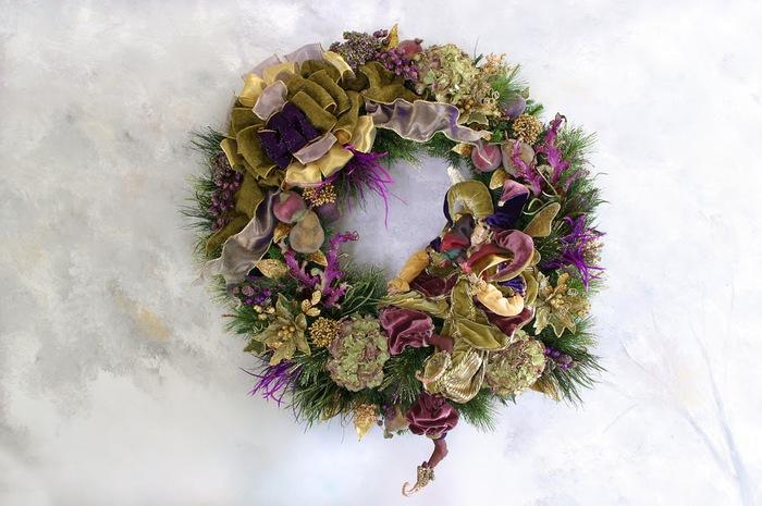 Рождественский венок 45093