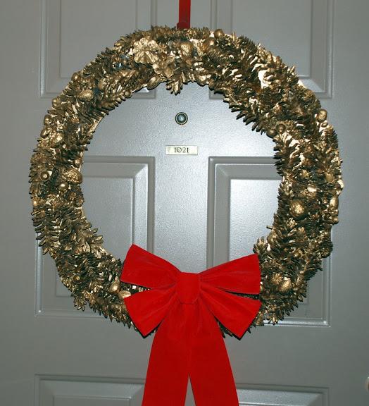 Рождественский венок 48142
