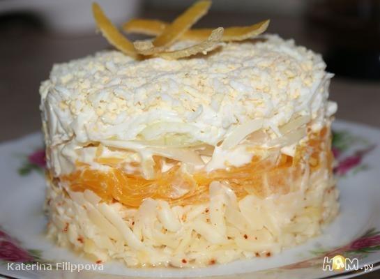 Салат с сыром и апельсином (545x400, 31Kb)
