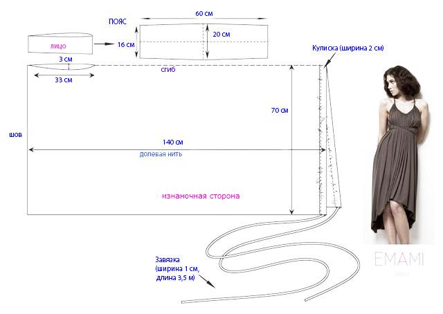 Как сшить платье трансформер 28