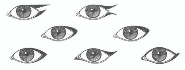 Макияж глаз в зависимости от