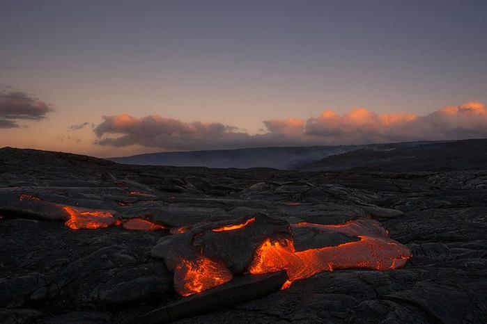 Vulcões do Havaí Foto 3 (700x466, 92Kb)