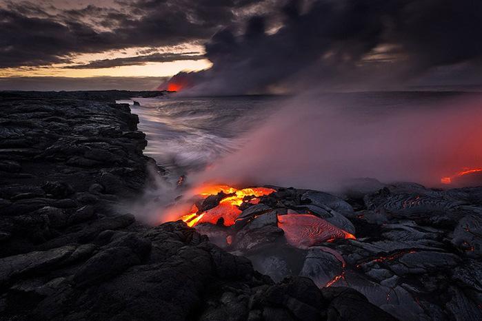 Vulcões do Havaí Foto 7 (700x466, 104Kb)