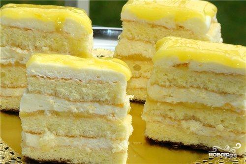 Превосходный лимонный торт