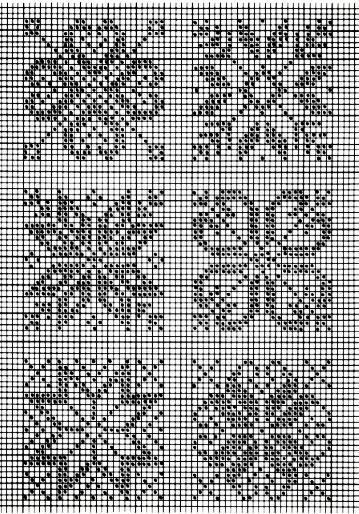 Вязание на спицах. жаккардовый узор 622