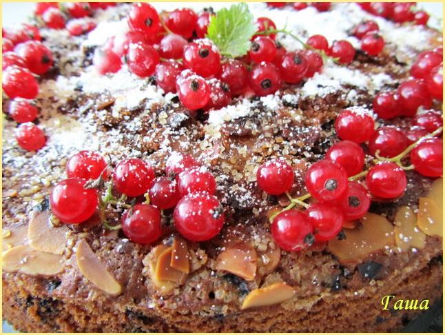 Пирог ягодный