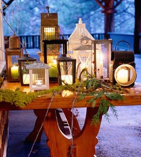 Рождественский фонарь своими руками