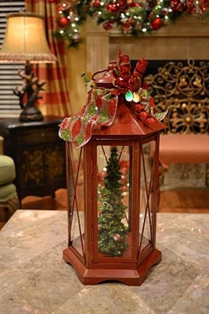 Рождественские фонарики своими руками