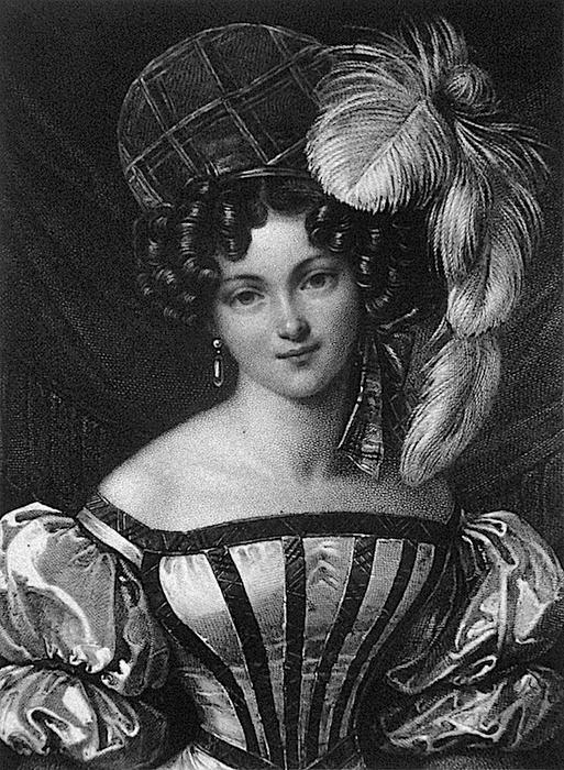 1827 Henriette Sonntag by Franz Xaver Stöber (513x700, 299Kb)