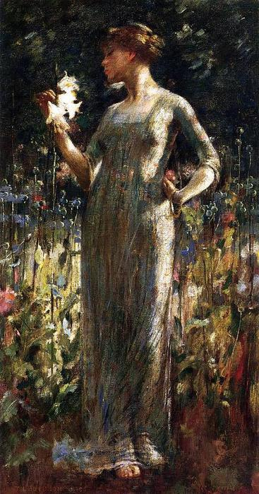 Alexander_John_White_A_King-s_Daughter_aka_Girl_with_Lilies (367x700, 75Kb)