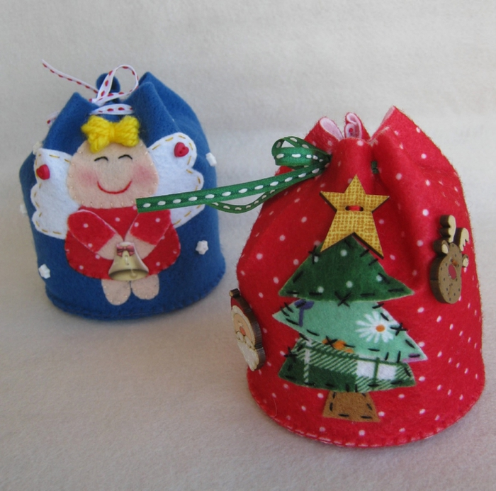 Новогодние игрушки сувениры своими руками