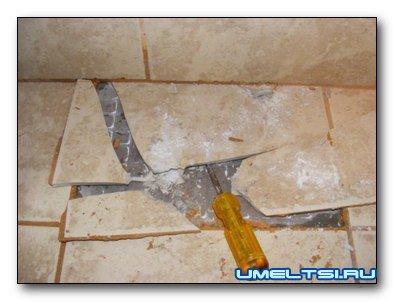 Регистрация.  Керамическая плитка одно из самых прочных напольных и настенных покрытий.  Ее трудно разрушить, если...