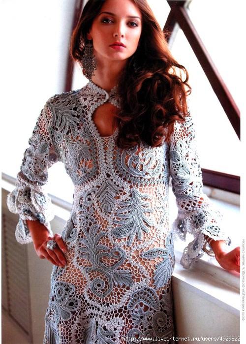 Фото платьев связанных