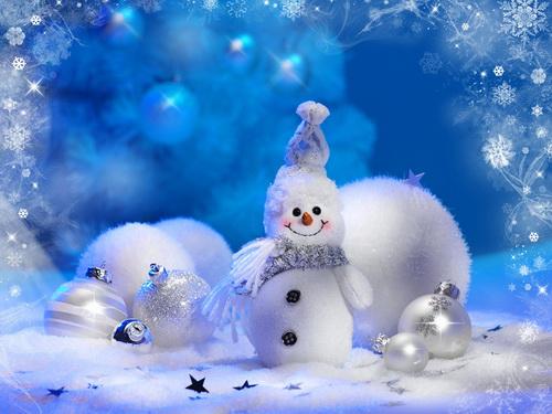 Снеговик мал (500x375, 75Kb)