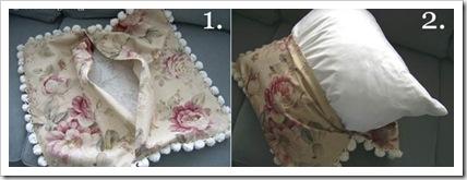 Декоративные наволочки на подушку своими руками